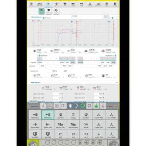 Tactum screenshot on new Negri Bossi electric machines